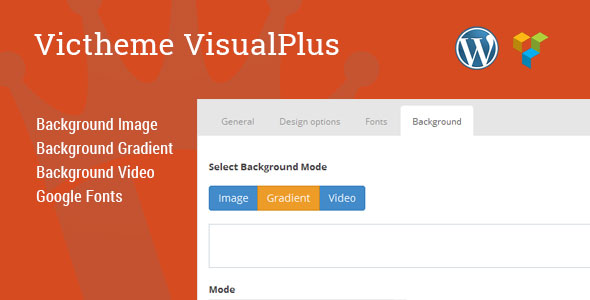 Victheme VisualPlus premium plugin